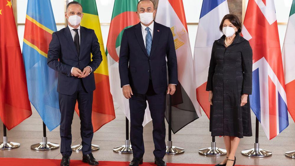 Τσαβούσογλου: Υποστηρίζουμε την ειρήνη, την ασφάλεια, τη σταθερότητα και την κυριαρχία της Λιβύης