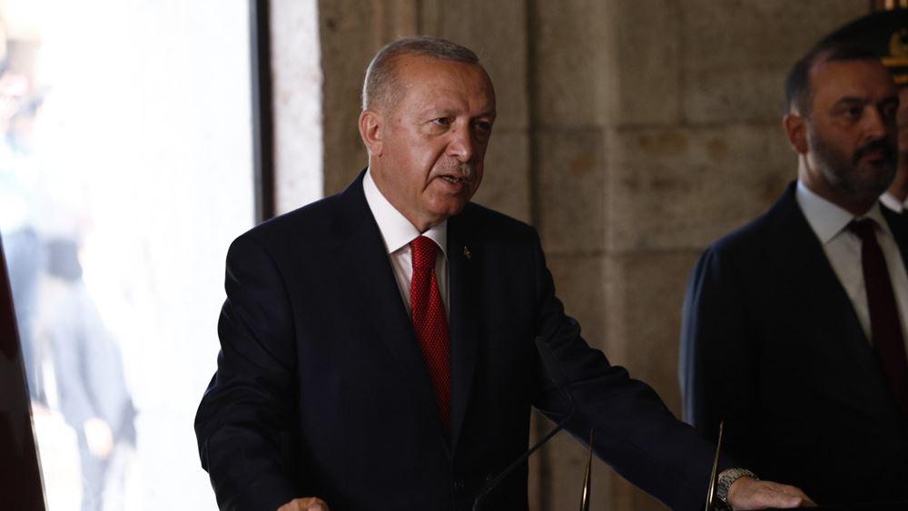 Τ. Ερντογάν: Οι ίδιοι εισβολείς  θέλουν να μας αποκλείσουν από την Αν. Μεσόγειο