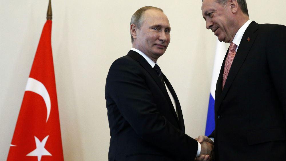 Τηλεφωνική συνομιλία Ερντογάν - Πούτιν