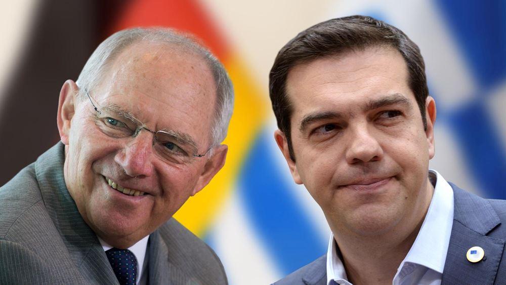 Συγχαρητήρια Σόιμπλε στον Τσίπρα για τη Βόρεια Μακεδονία