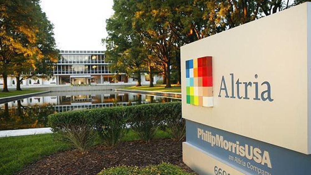 Altria Group: Καλύτερα των εκτιμήσεων τα κέρδη