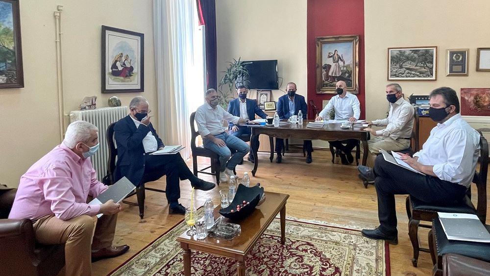 Στη Δυτική και την Ανατολική Μάνη ο υφυπουργός Περιβάλλοντος και Ενέργειας, Γιώργος Αμυράς