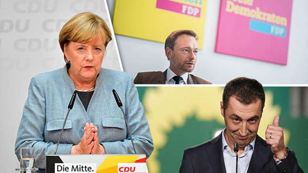 Γερμανία: Αποκλείει τη συνεργασία με το CDU υπό την Μέρκελ ο αντιπρόεδρος του FDP