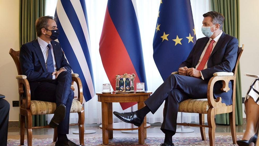 Κ. Μητσοτάκης: Να υποστηριχθεί η ευρωπαϊκή προοπτική των χωρών της περιοχής, με προϋπόθεση την εκπλήρωση των γνωστών αιρεσιμοτήτων