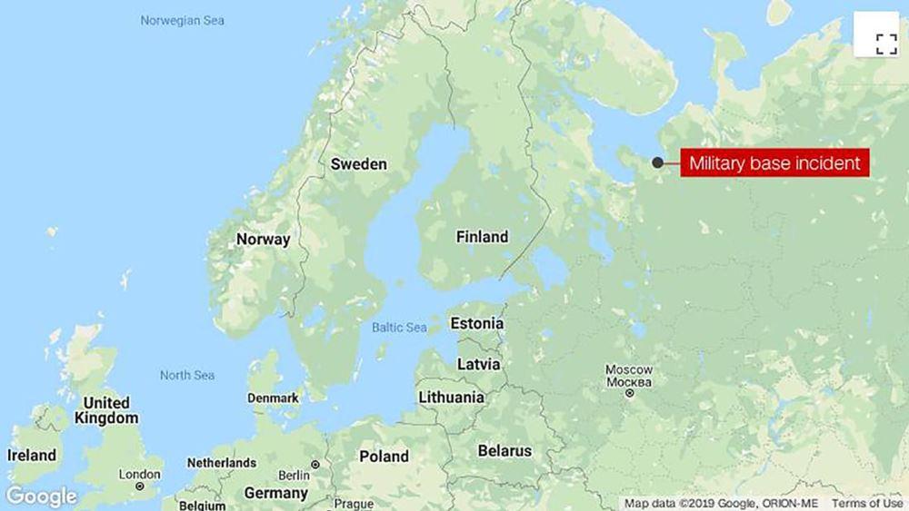 Ρωσία: Κατά 4 έως 16 φορές αυξήθηκαν τα επίπεδα ραδιενέργειας στο Σεβεροντβίνσκ έπειτα από ατύχημα