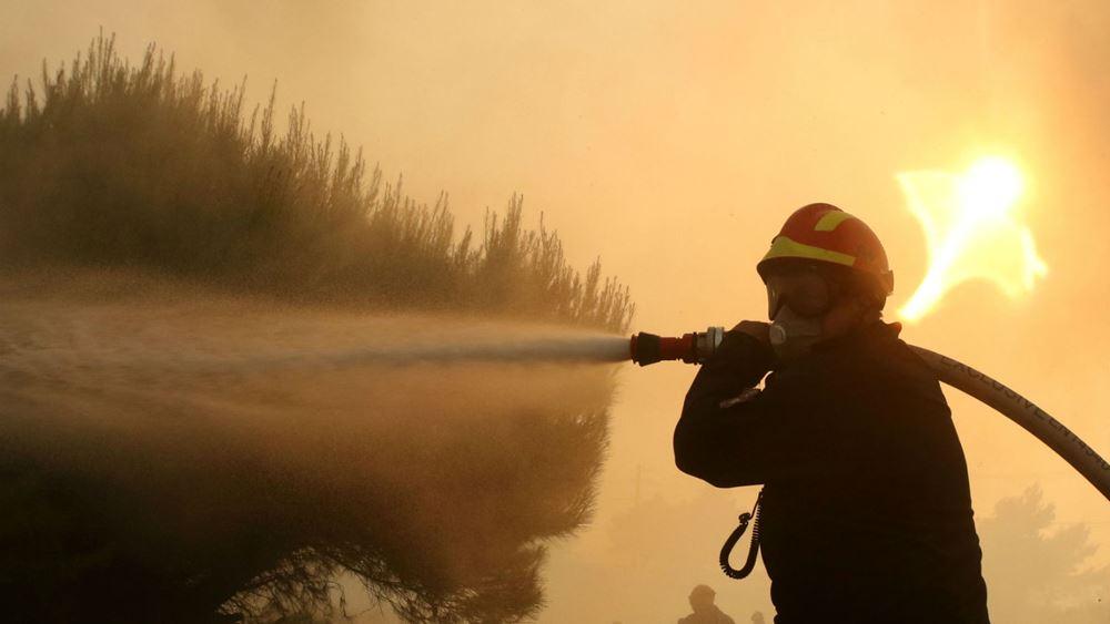 """Προειδοποίηση της πυροσβεστικής: """"Πολύ υψηλός κίνδυνος πυρκαγιάς"""" αύριο στο Ιόνιο"""