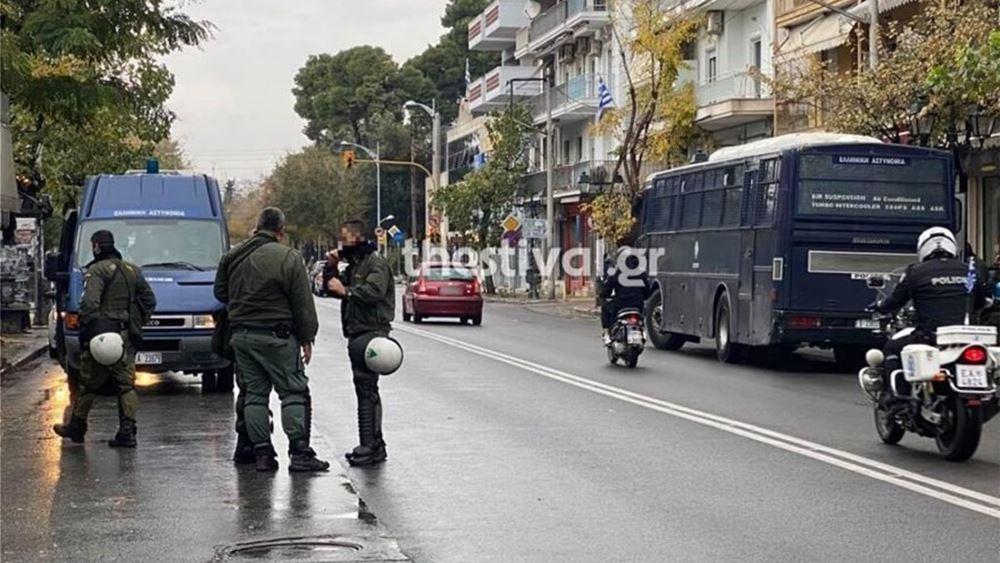 Θεσσαλονίκη: Τέσσερις προσαγωγές σε συγκεντρώσεις για την επέτειο της δολοφονίας Γρηγορόπουλου