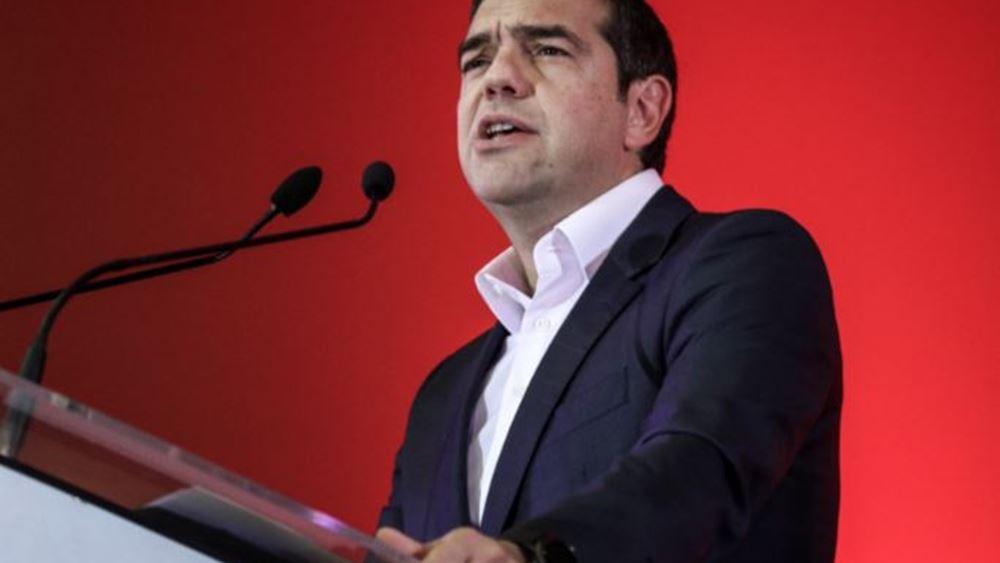 """Τσίπρας: Η ασφάλεια είναι προοδευτική έννοια, δεν θα την κάνει ο νεοδεξιός κ. Χρυσοχοΐδης """"τρόμο και πάταξη"""""""