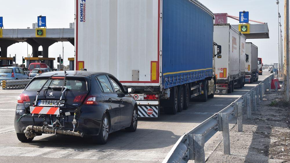 Αναπροσαρμόζονται οι τιμές διοδίων στον αυτοκινητόδρομο Πατρών - Αθηνών