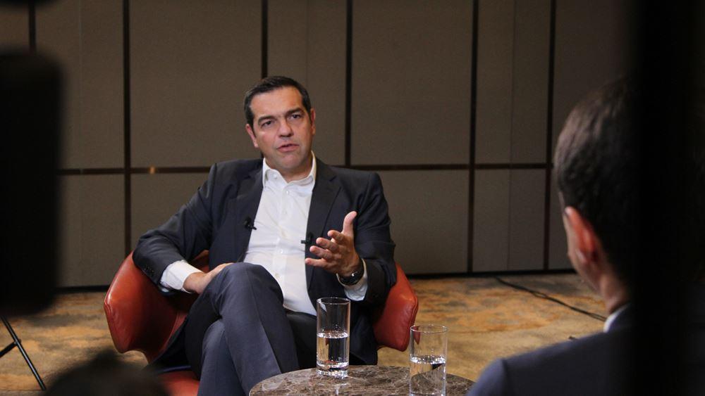 Αλ. Τσίπρας από Β. Μακεδονία: Η Ελλάδα με τη Συμφωνία των Πρεσπών πρέπει να αναλάβει ηγετικό ρόλο στα Βαλκάνια