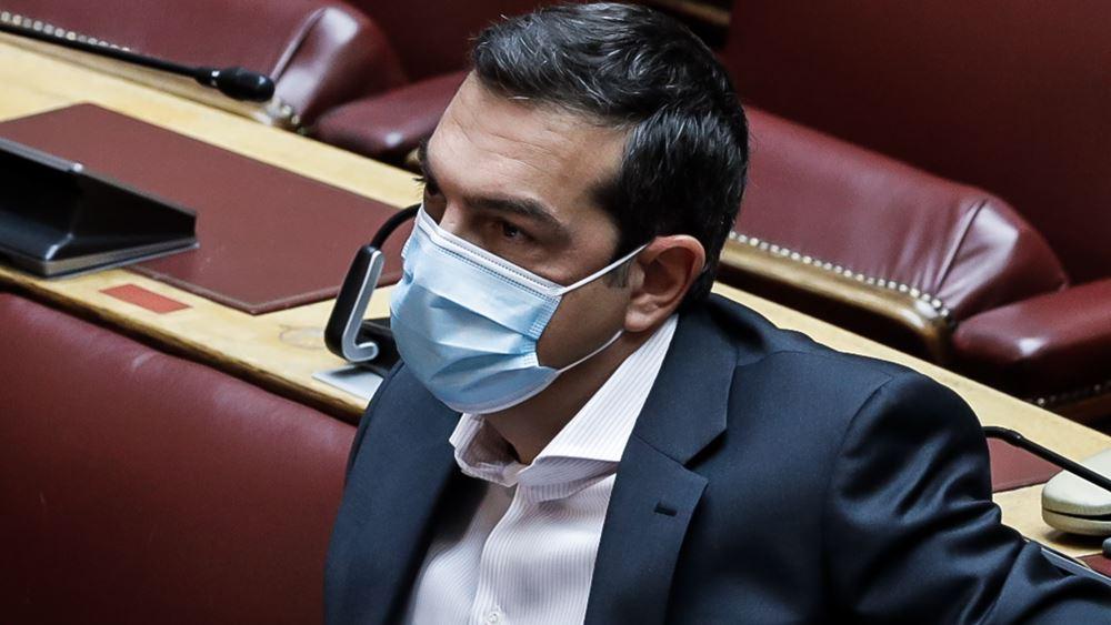"""Τσίπρας για """"ακαταδίωκτο"""": Στυγνή ομολογία ενοχής της κυβέρνησης για την τραγική διαχείριση της πανδημίας"""