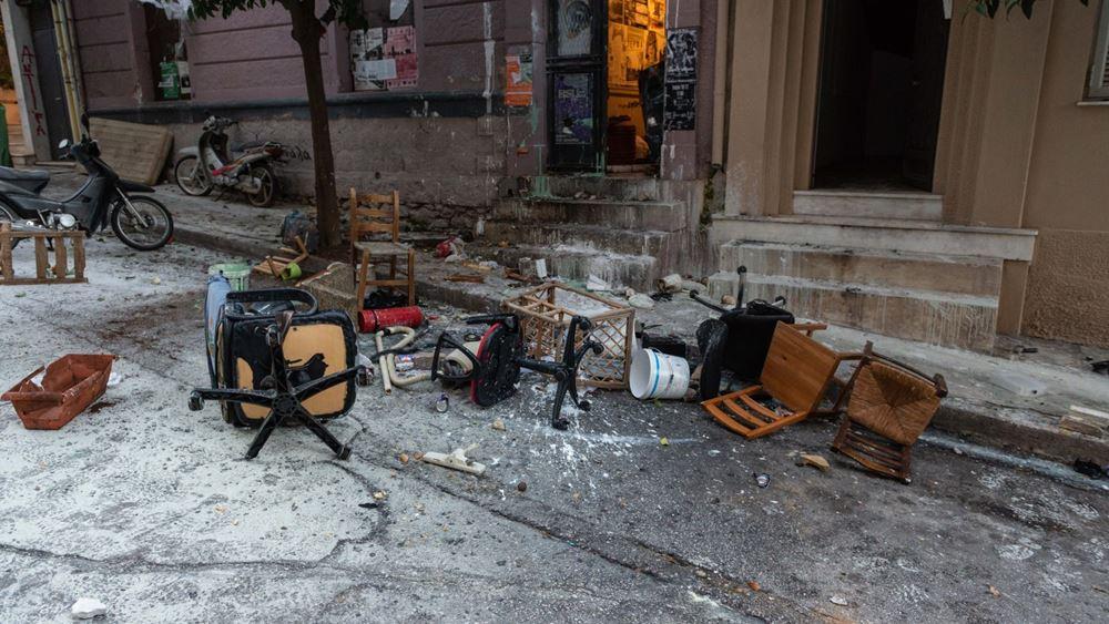 """ΕΛΑΣ:  Κατασκευή """"παγίδα θανάτου"""" είχαν φτιάξει οι καταληψίες στο Κουκάκι"""