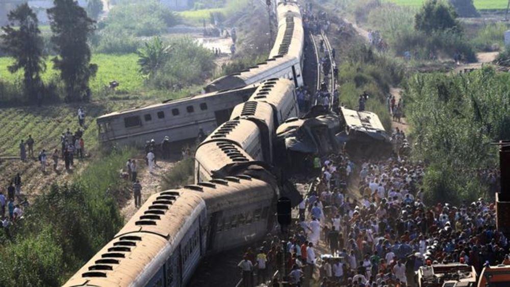 Αίγυπτος-Εκτροχιασμός τρένου: Τουλάχιστον 11 νεκροί