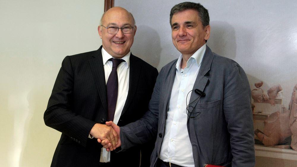 Σαπέν: Δεν είναι λογικό να ζητείται από την Ελλάδα να ψηφίσει εκ των προτέρων μέτρα