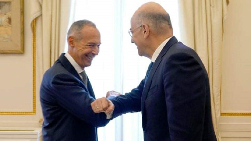 Με τον Ρώσο πρέσβη συναντήθηκε ο Ν. Δένδιας