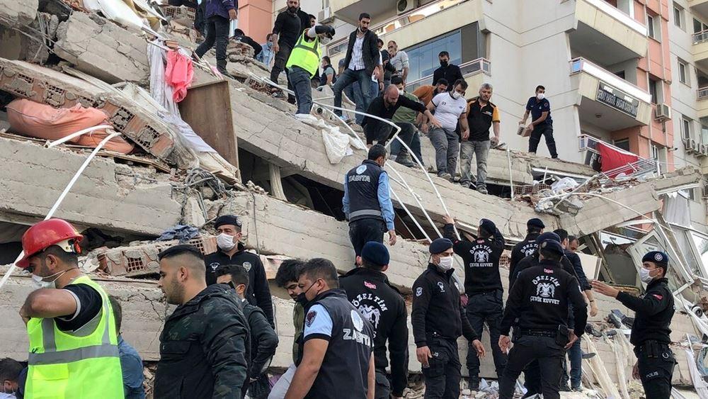 Στους 91 οι νεκροί στην Τουρκία - Αγγίζουν τους 1.000 οι τραυματίες από τον καταστροφικό σεισμό