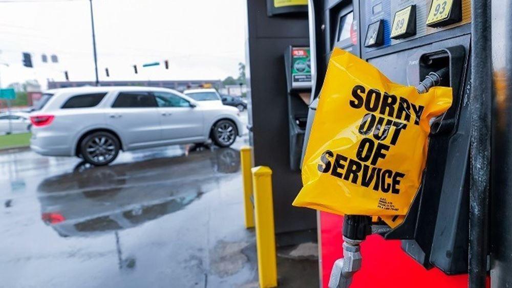 Η Ουάσιγκτονξεμένει από βενζίνη, αν και η Colonial Pipeline επανακάμπτει