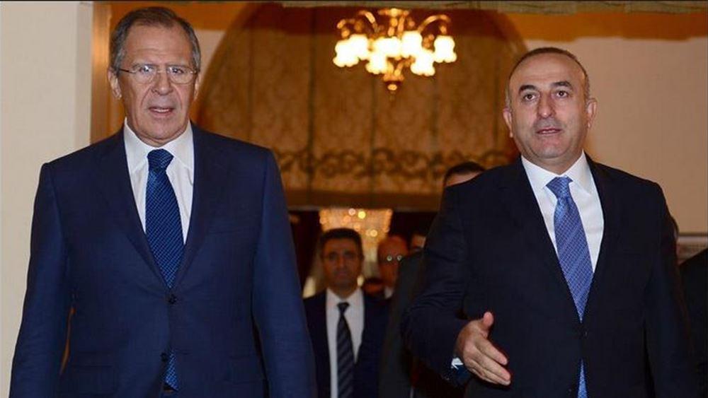 Τηλεφωνική επικοινωνία των ΥΠΕΞ Τουρκίας και Ρωσίας για την κατάσταση στη Συρία και τη Λιβύη