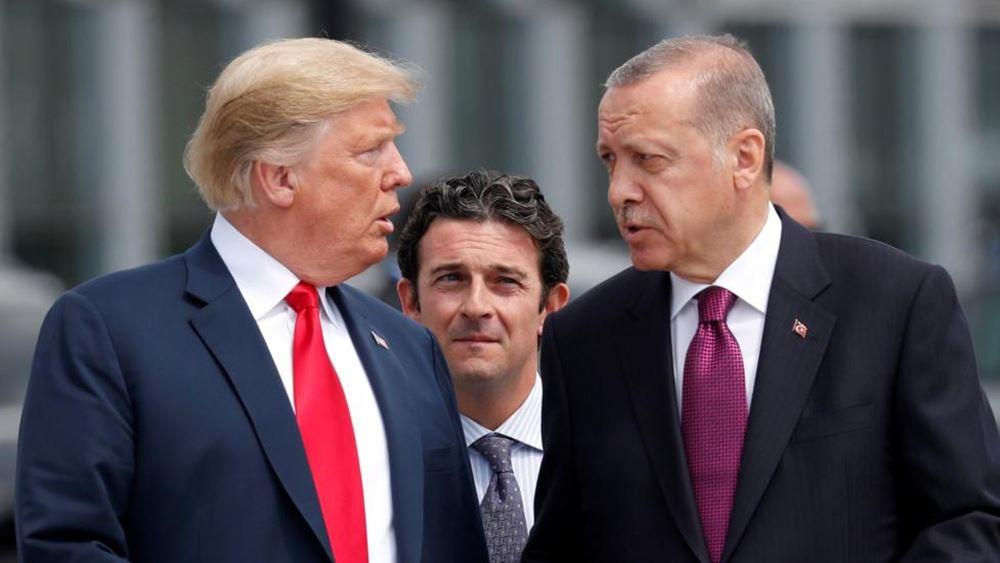 Τηλεφωνική επικοινωνία Τραμπ - Ερντογάν για Λιβύη, Συρία και Ανατολική Μεσόγειο