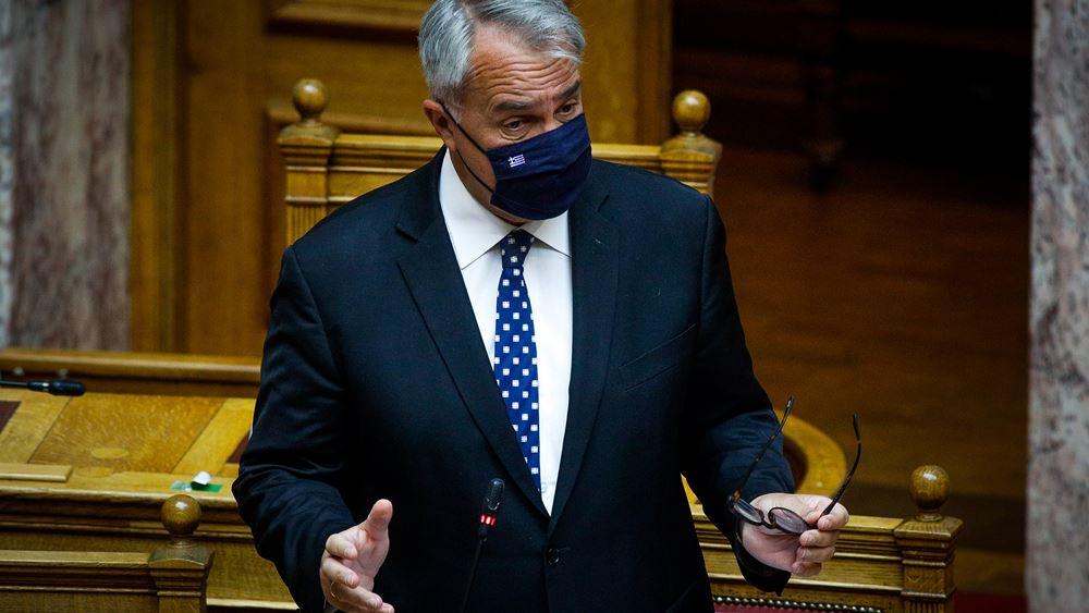 Κόντρα Βορίδη - αντιπολίτευσης στη Βουλή για το ν/σ για το Σύστημα Εσωτερικού Ελέγχου του Δημοσίου