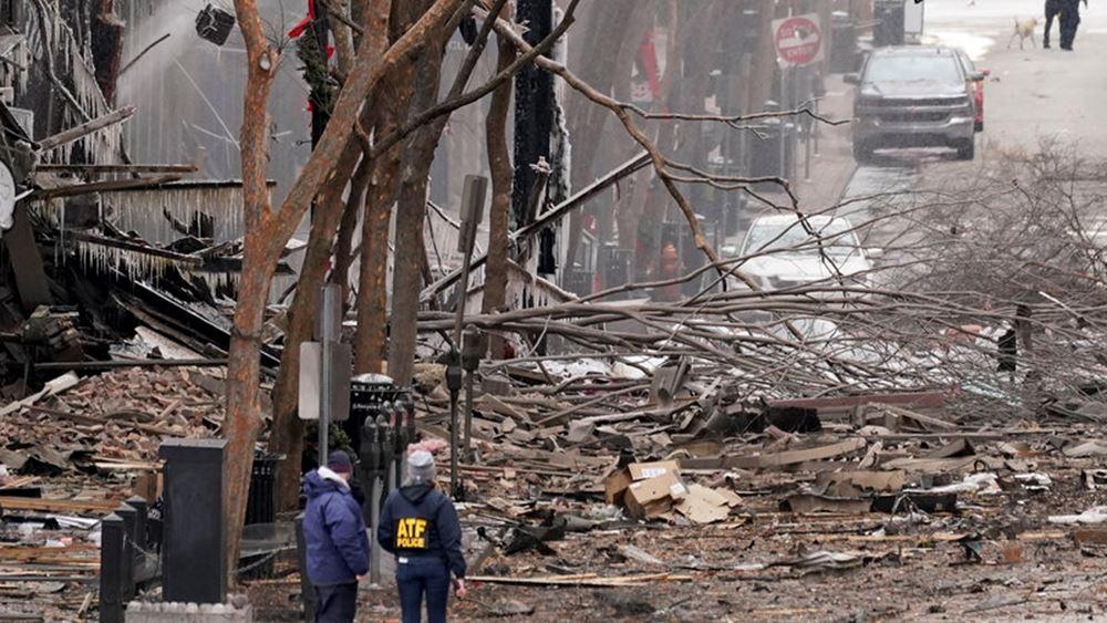 ΗΠΑ: Οι αρχές συνεχίζουν να αναζητούν τα κίνητρα πίσω από τη βομβιστική ενέργεια στο Νάσβιλ
