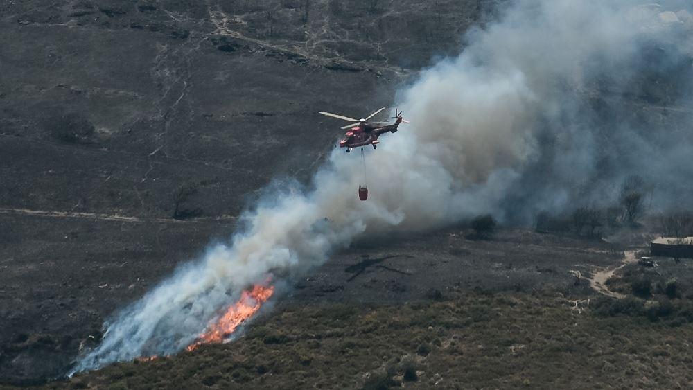 Κόρινθος: Πυρκαγιά σε δασική έκταση στην περιοχή Βλασαίικα
