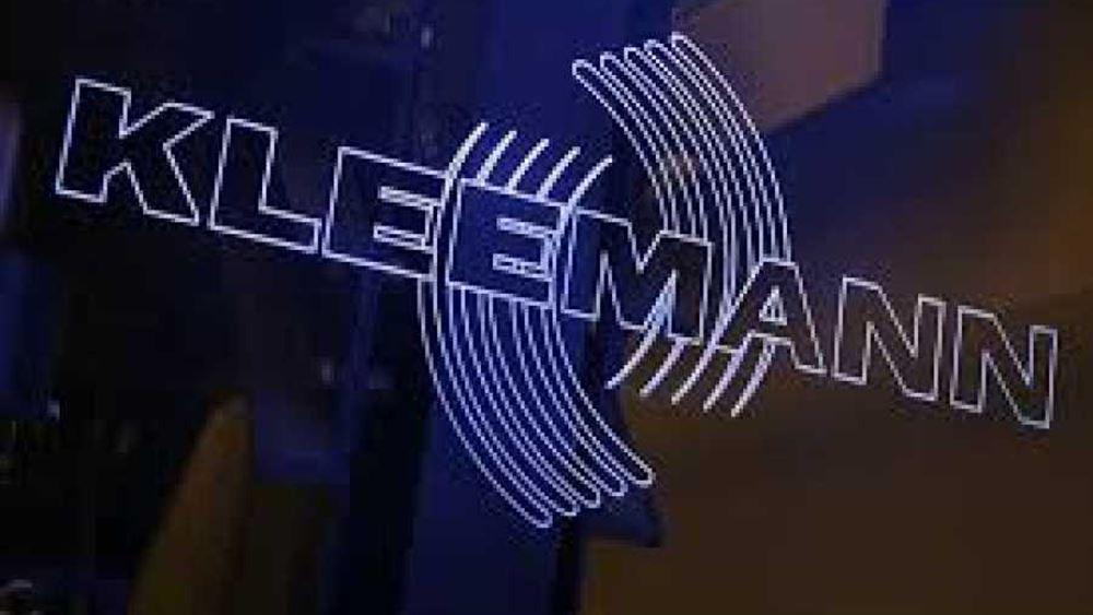 Kleemann: Στόχος ο διψήφιος ρυθμός ανάπτυξης τα επόμενα έτη