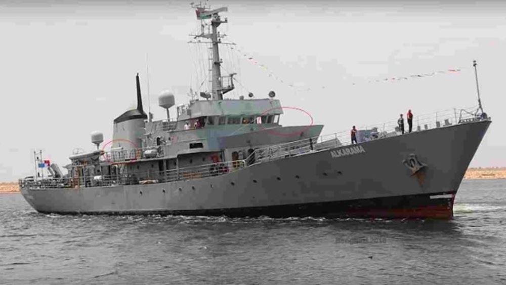 ΟΗΕ: Ο Χαφτάρ αγόρασε Ιρλανδικό πολεμικό πλοίο 12 φορές πάνω από την τιμή του