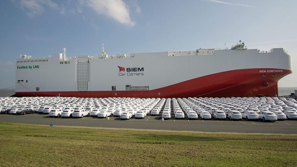 """""""Πράσινο"""" καύσιμο για τις θαλάσσιες μεταφορές οχημάτων της VW"""