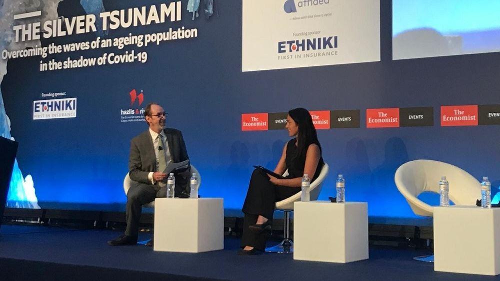 Συμμετοχή της υφυπουργού Εργασίας Δ. Μιχαηλίδου στο Forum του Economist