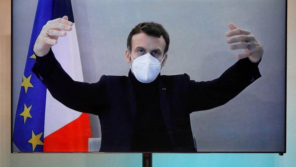 """Γαλλία: """"Σταθερή"""" η κατάσταση της υγείας του Εμανουέλ Μακρόν"""