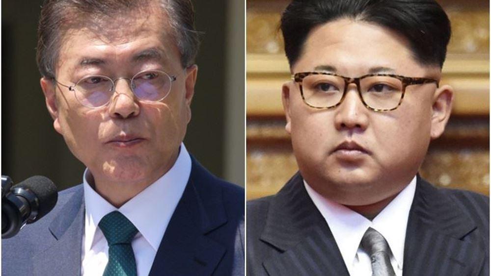 Β. Κορέα: Ο Κιμ Γιονγκ Ουν επιθυμεί νέα συνάντηση με τον νοτιοκορεάτη πρόεδρο Μουν