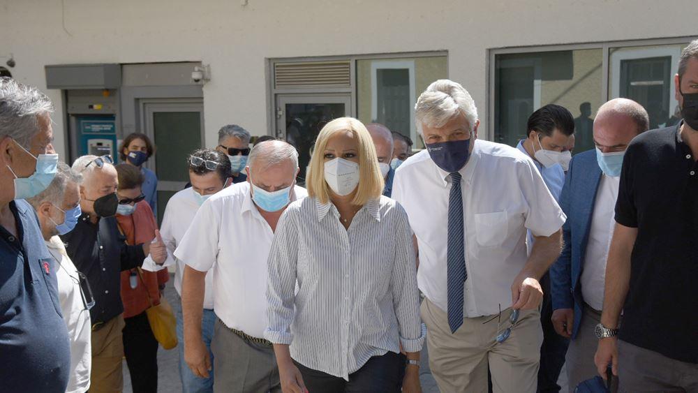 """Φ. Γεννηματά: """"Ο κ. Μητσοτάκης απέδειξε ότι, όχι μόνο είναι δεξιός, αλλά αδέξιος και αδύναμος πρωθυπουργός"""""""
