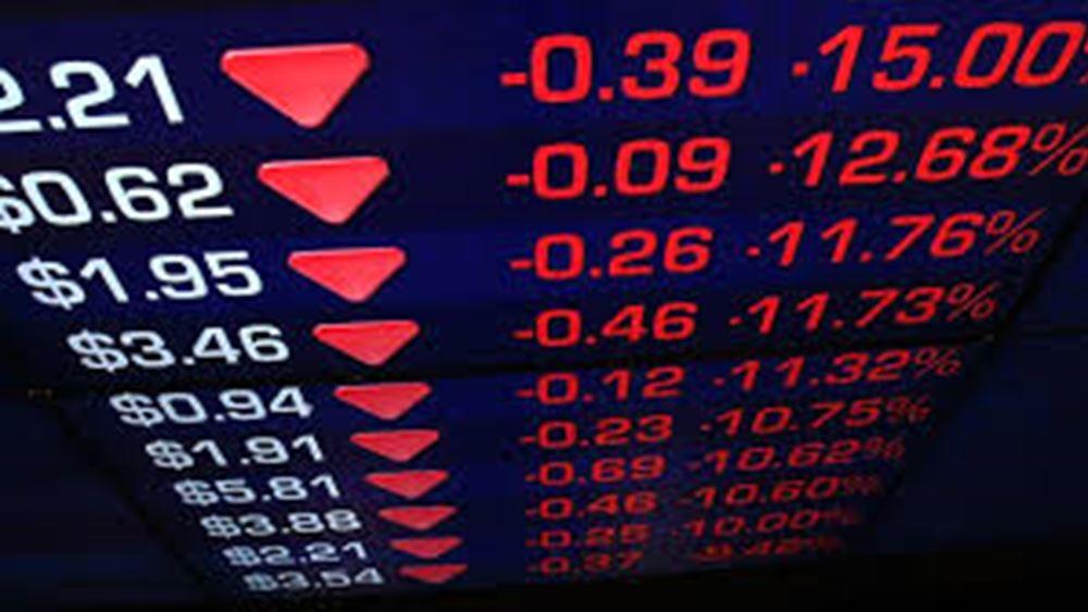 Φόβος για επιβράδυνση της παγκόσμιας οικονομίας κυρίευσε την Wall Street