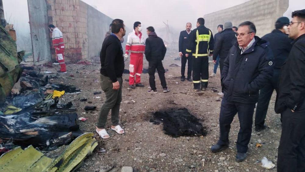 Δύο πύραυλοι που εκτοξεύθηκαν από ιρανική στρατιωτική βάση έριξαν το ουκρανικό αεροσκάφος