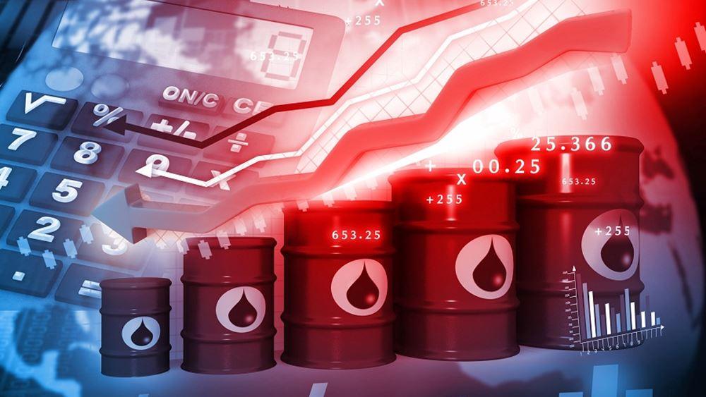 πετρελαιο πτωση