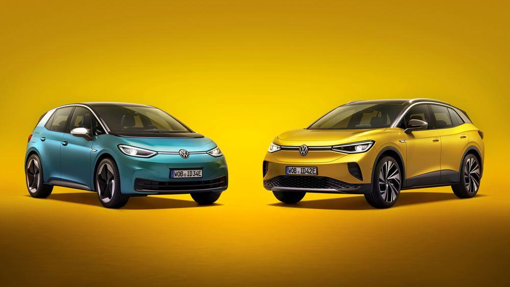 Νέες εκδόσεις για τα Volkswagen ID.3 και ID.4