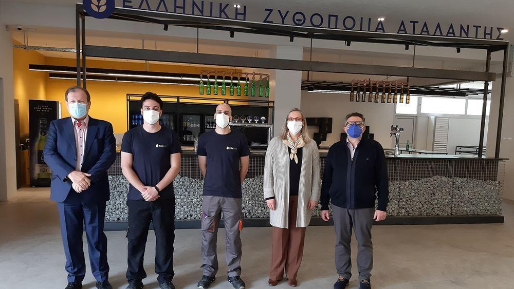 Πρόγραμμα Διττής Εκπαίδευσης: Πραγματοποιήθηκαν με επιτυχία οι ενδιάμεσες εξετάσεις στην Ελληνική Ζυθοποιία Αταλάντης (ΕΖΑ)