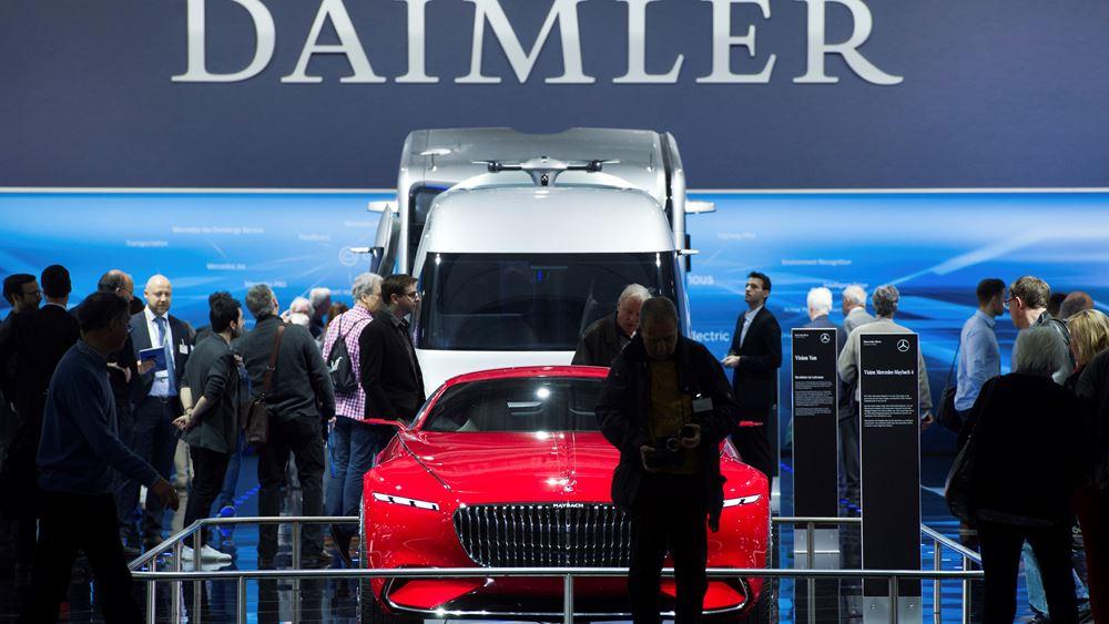 Daimler: Θα ανακοινώσει ζημιές στο β΄ τρίμηνο