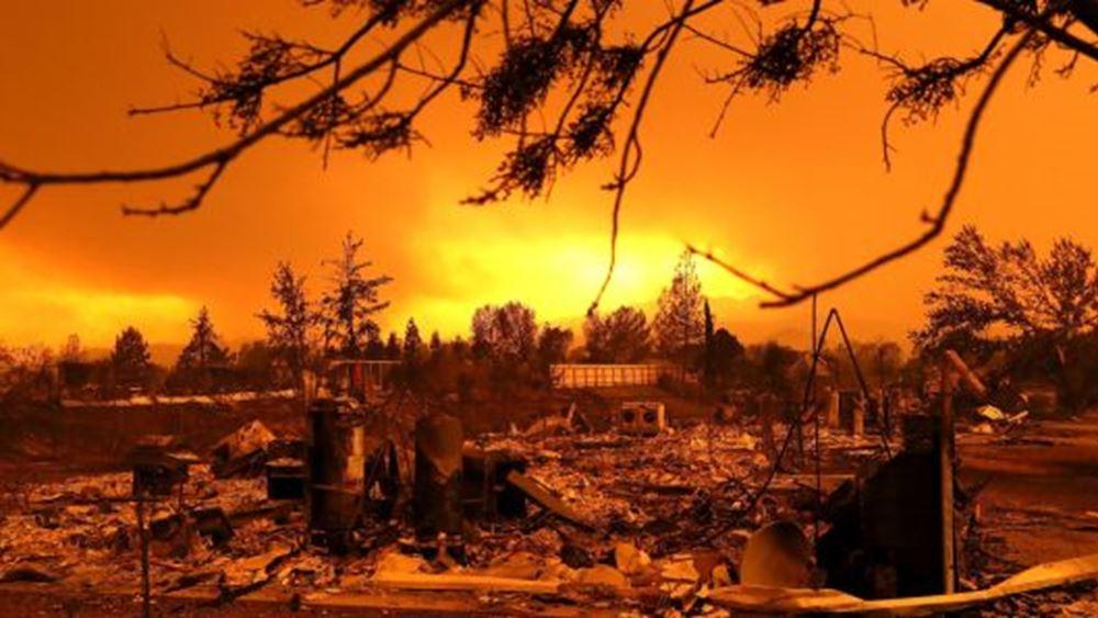 Καλιφόρνια: Περίπου 180.000 άνθρωποι κλήθηκαν να εγκαταλείψουν τα σπίτια τους λόγω πυρκαγιάς