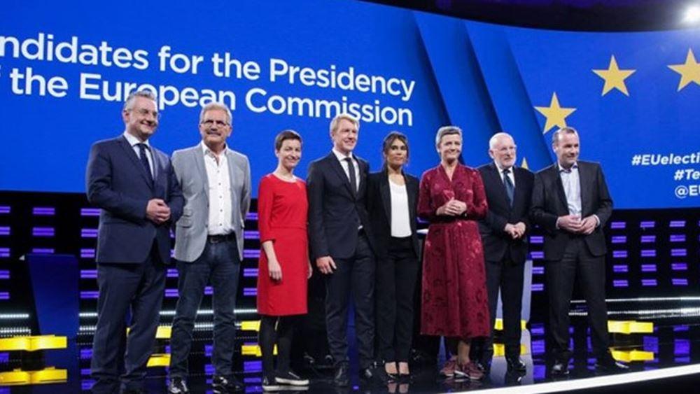 Διασταύρωσαν τα ξίφη τους οι υποψήφιοι για την προεδρία της Κομισιόν