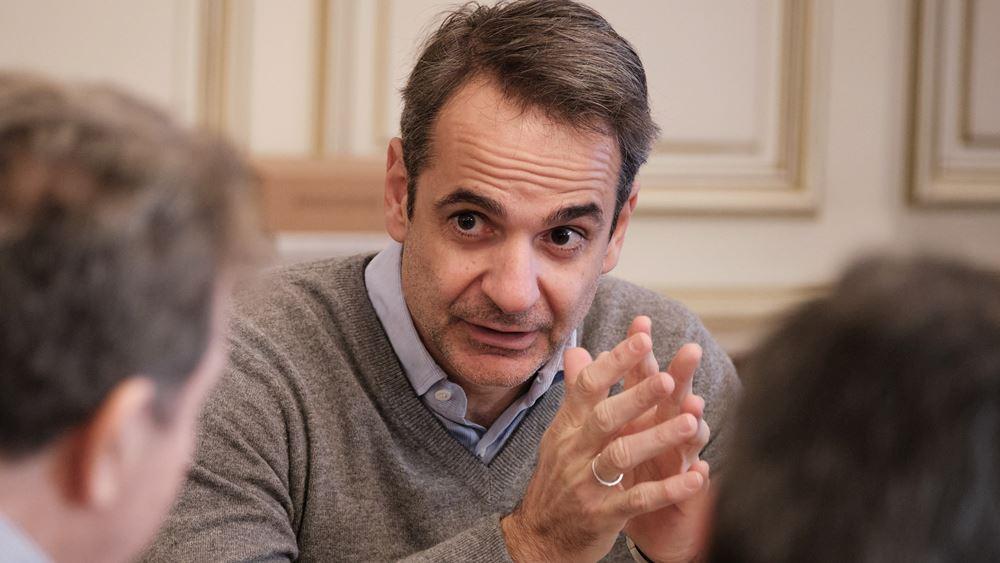 Η ανάρτηση του πρωθυπουργού Κυριάκου Μητσοτάκη για τον Μανώλη Γλέζο