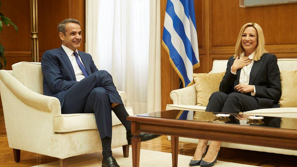 Ολοκληρώθηκαν οι συναντήσεις Μητσοτάκη-πολιτικών αρχηγών