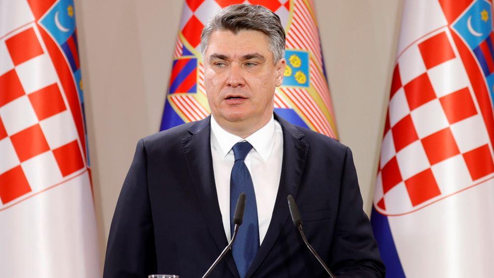 Κροατία: Βουλευτικές εκλογές στις 5 Ιουλίου προκήρυξε ο πρόεδρος Μιλάνοβιτς
