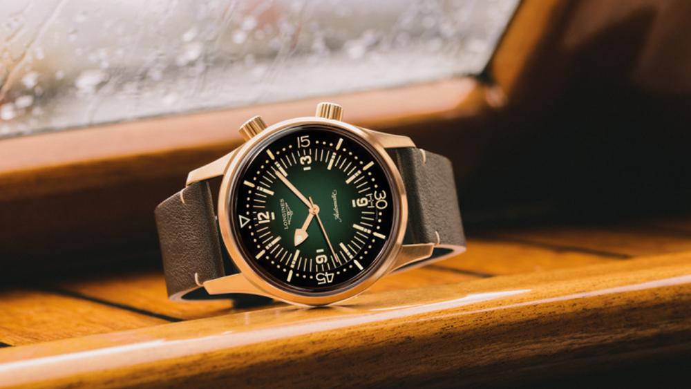 Το ρολόι Longines Legend Diver γίνεται χάλκινο