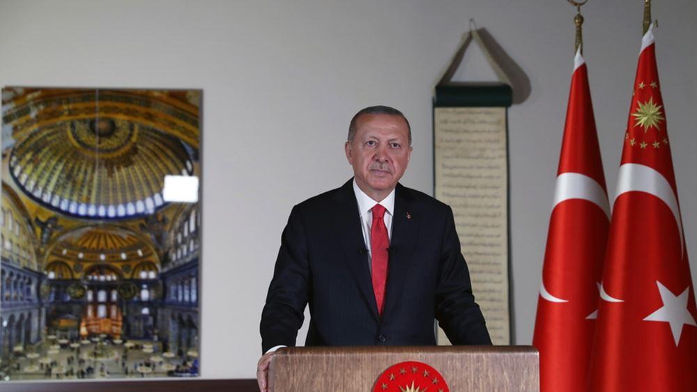 """Έκτακτη σύσκεψη του οικονομικού επιτελείου υπό τον Ερντογάν ενώ η τουρκική λίρα """"καταρρέει"""""""