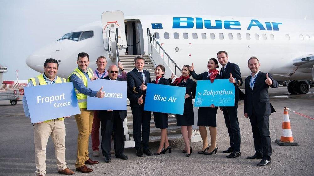 Η Blue Air πετά πλέον προς 10 ελληνικούς προορισμούς