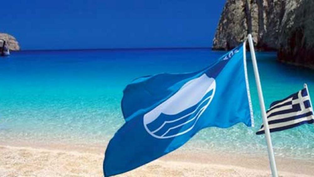 """Η Ελλάδα δεύτερη """"δύναμη"""" παγκοσμίως σε Γαλάζιες Σημαίες"""