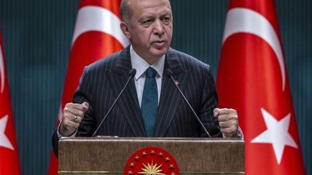 Ερντογάν: Ανανέωσε την υποστήριξή του στην κυβέρνηση Σάρατζ