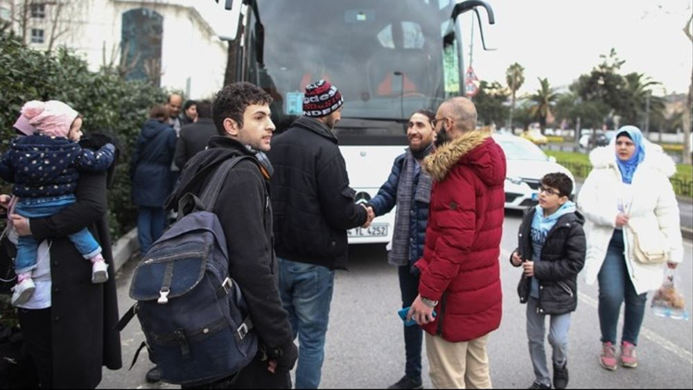 Συνολικά 550 αλλοδαποί με δικαίωμα μετακίνησης εντός Ελλάδας αναχώρησαν από Λέσβο από το Σάββατο